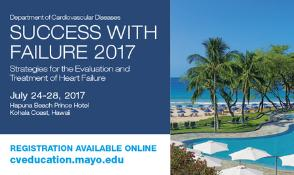Success With Failure: Strategies for the Evaluation and Treatment of Heart: Kohala, Hawaii, USA, 24-28 July 2017