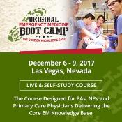 Original Emergency Medicine Boot Camp: Las Vegas, Nevada, USA, 6-9 December 2017