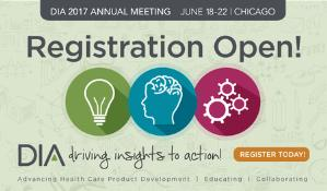 DIA 2017 Global Annual Meeting: Chicago, Illinois, USA, 19-22 June 2017