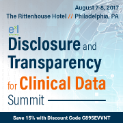 Disclosure and Transparency for Clinical Data Summit
