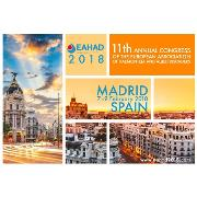 EAHAD 2018 - The 11th Annual Congress of the European Association for Haemophilia and Allied Disorders