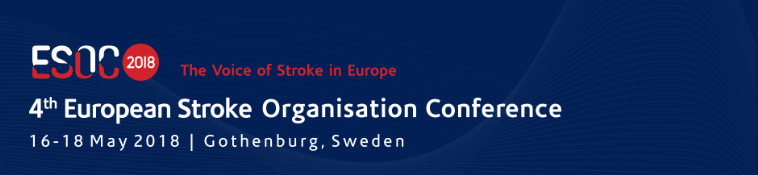4th European Stroke Organisation Conference - ESOC 2018: Gothenburg, Sweden, 16-18 May 2018