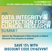 2nd Data Integrity and Protection for Clinical Research Summit