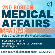 2nd Boston Medical Affairs Seminar