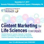 6th Content Marketing for Life Sciences