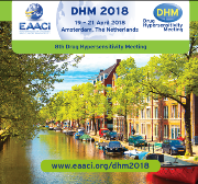 DHM 2018 (Drug Hypersensitivity Meeting), Amsterdam, The Netherlands