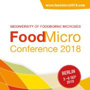 FoodMicro 2018 - 26th International ICFMH Conference, 3-6 Sep 2018, Berlin