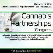 Cannabis Partnerships Congress: San Francisco, California, USA, 12-13 March 2018