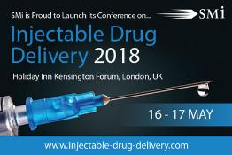 Injectable Drug Delivery: London, England, UK, 15-17 May 2018