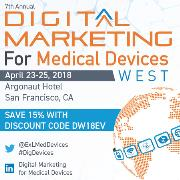 7th Digital Marketing for Medical Devices West