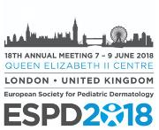 European Society for Pediatric Dermatology - 18th Annual Meeting