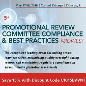 5th Promotional Review Committee Compliance And Best Practices - Midwest: Chicago, Illinois, USA, 17-18 May 2018